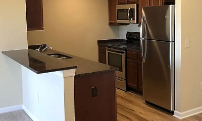 Kitchen, Residences at Hornell, 2