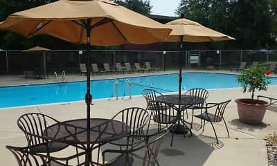 Pool, Riverwood Apartments, 0