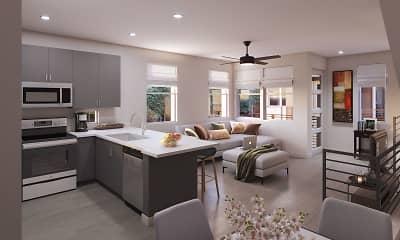 Kitchen, Scottsdale Hayden Townhomes, 1