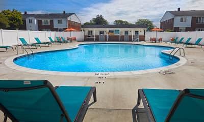 Pool, Harlo Apartments, 2