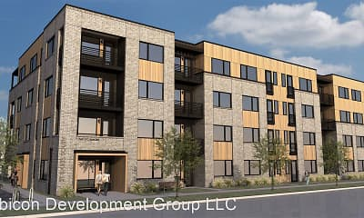 Building, St. Barts Apartments, 1