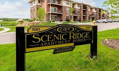Community Signage, Scenic Ridge Apartments, 2