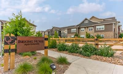 Community Signage, Bucking Horse Apartments, 2