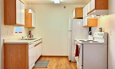 Kitchen, Lake Crest Apartments, 0