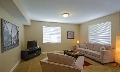 Living Room, The Fields At Gramercy, 1