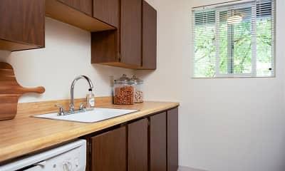 Kitchen, St. James on Hall, 1