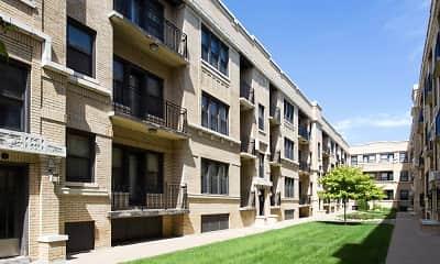 Building, Maple Court, 1