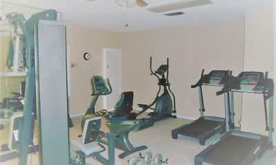 Fitness Weight Room, Cedar Creek Apartments, 2