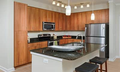 Kitchen, Avalon Falls Church, 1