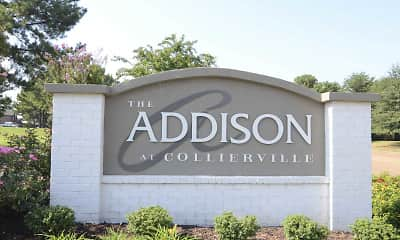 Community Signage, The Addison at Collierville, 2