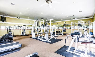 Fitness Weight Room, Tuscany Square, 2