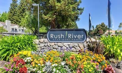 Community Signage, Rush River, 2
