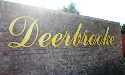 Community Signage, Deerbrooke Apartments, 2