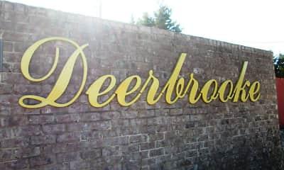 Community Signage, Deerbrooke Apartments, 2