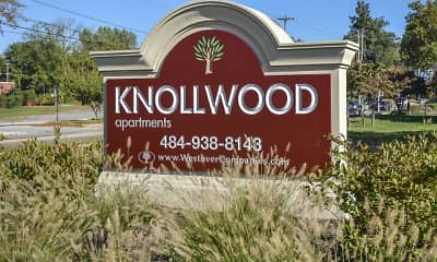 Community Signage, Knollwood Apartments, 0