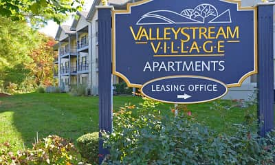 Community Signage, Valley Stream Village Apartments, 2