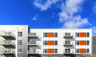 Building, Lumber Exchange Apartments, 1