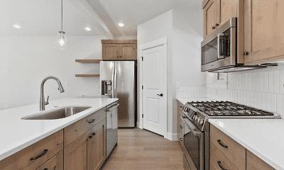 Kitchen, Bradbury Townhomes with Garages, 2