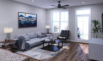 Living Room, The Grove by Watermark, 2