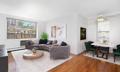 Living Room, 2630 N. Hampden, 1