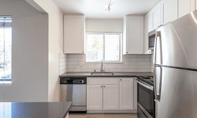 Kitchen, McInnis Park Apartments, 1