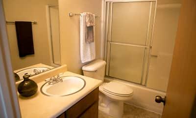 Bathroom, Northwood Village Apartments, 2