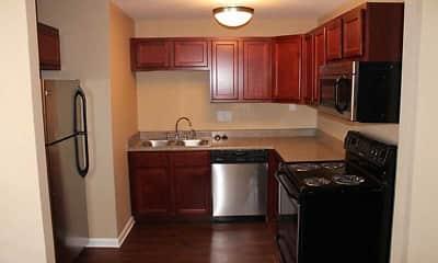 Kitchen, Capital Manor, 1