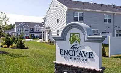 Community Signage, The Enclave at Winslow, 2