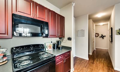 Kitchen, Maverick Place, 1