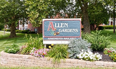 Community Signage, Allen Gardens Apartments, 1