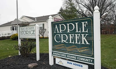 Community Signage, Apple Creek, 2