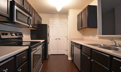 Kitchen, Auburn Hill Apartments, 0