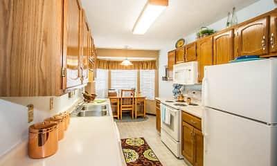 Kitchen, Sunblest Apartment Homes, 2
