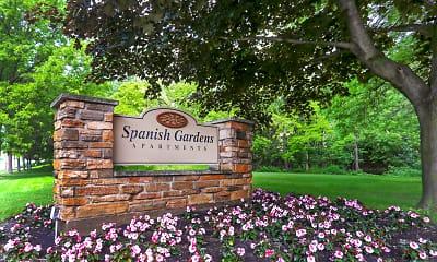 Community Signage, Spanish Gardens, 2
