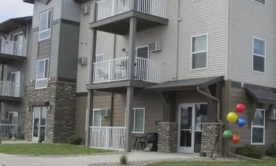 Building, West Ridge Apartments, 2