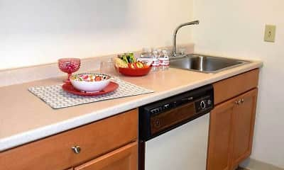 Kitchen, Village Center Apartments, 1