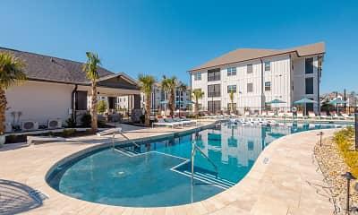 Pool, Azure Carnes Crossroads, 1