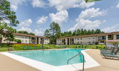 Pool, High Country Apartments, 1