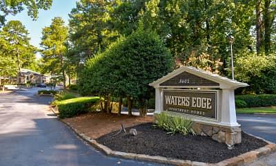 Community Signage, Waters Edge, 2