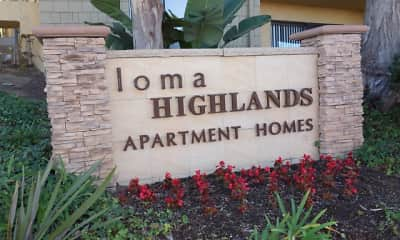 Community Signage, Elan Loma Highlands, 2