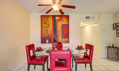 Dining Room, The Palms at Forest Hills, 1