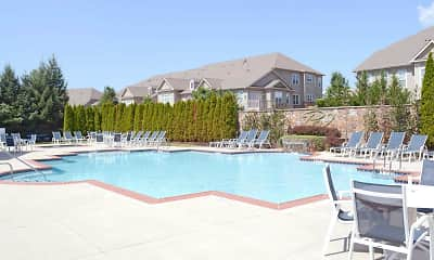 Pool, Parkland View Apartments, 0