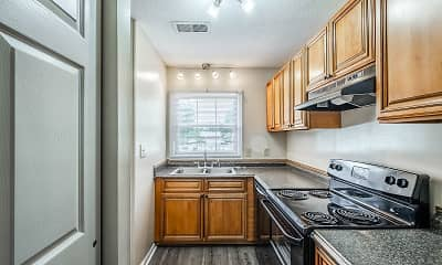 Kitchen, Park View Apartments, 1