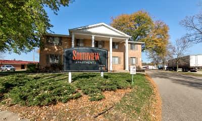 Building, Southview Apartments, 0