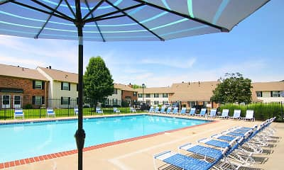 Pool, Chelsea Village Apartments of Indianapolis Indiana, 2