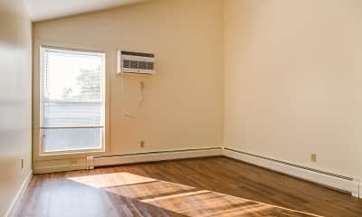 Bedroom, Powdermill Village Apartments, 0