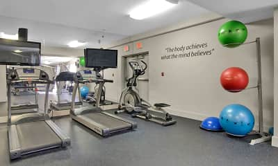 Fitness Weight Room, Stadium Tower, 2