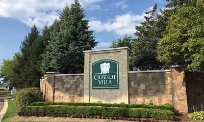 Community Signage, Camelot Villa, 0