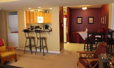 Dining Room, University Center Apartments, 1