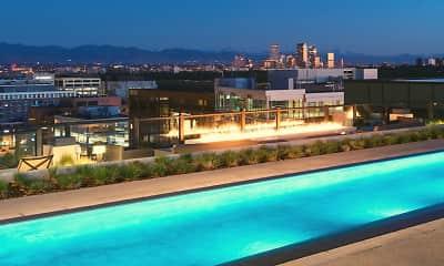 Pool, Steele Creek Apartments, 0